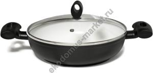 Сковорода с керамическим покрытием FLAMINGO, отзывы