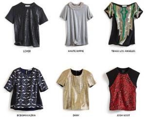 Изящные футболки в Shopbop