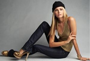Черное с золотом - коллекция женской одежды от Ralph Lauren