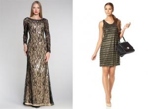 Выбираем платье на новый год