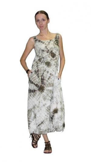 Модные дизайнерские льняные сарафаны