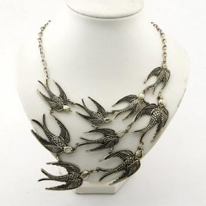 Ожерелье с ласточками на Aliexpress