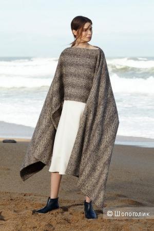 Альтернативный вариант для замены пальто: как носить пончо