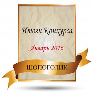 Итоги конкурса января 2016 года