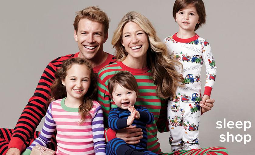 8cac0fcfa4083 Нарядные пижамы для всей семьи от Hanna Andersson — на Шопоголик