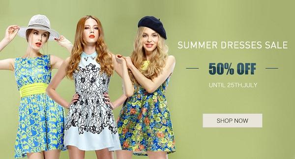 Распродажа летних платьев ELF SACK на AliExpress
