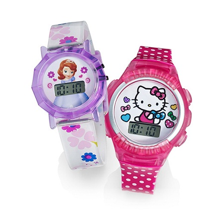 Детские наручные часы на Amazon