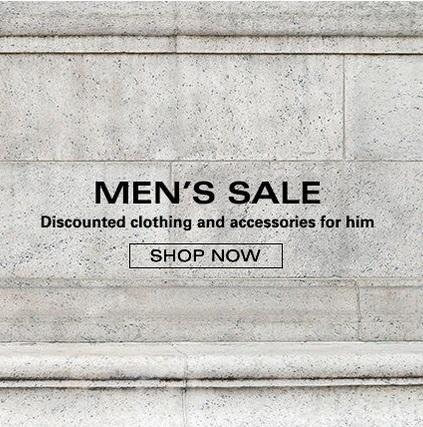 Распродажа мужских вещей на eBay