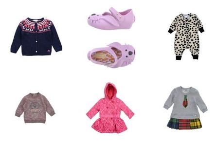 Новинки для деток в YOOX до двух лет возрастом