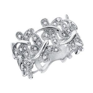 Стрекозиное кольцо на eBay с бриллиантами