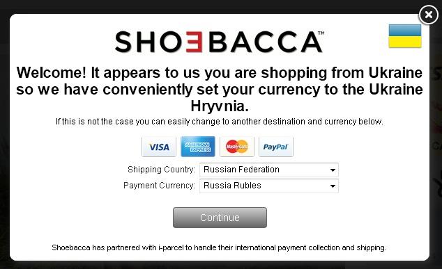 cd6544db607 Подробней о магазине читайте на нашем форуме в теме  shoebacca.com -  обувной магазин США
