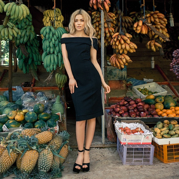 Новинка в Zazazu : Элегантное платье Moscow Chic