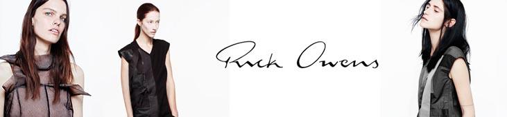 Новая коллекция Rick Owens в Topbrands