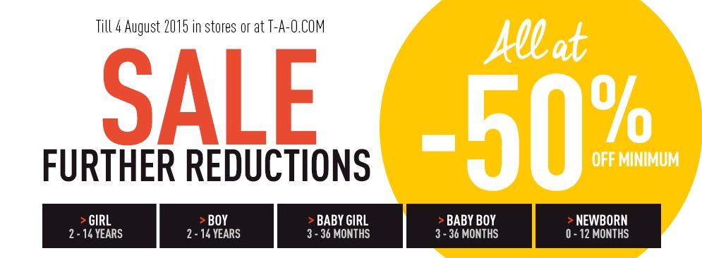 Распродажа в T-a-o.com: скидки до 50% на товары для маленьких девочек