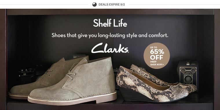 Clarks в 6pm - обувь для комфорта и стиля