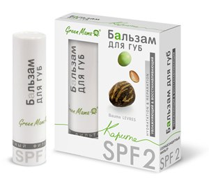 Увлажняющий и восстанавливающий бальзам для губ Green Mama