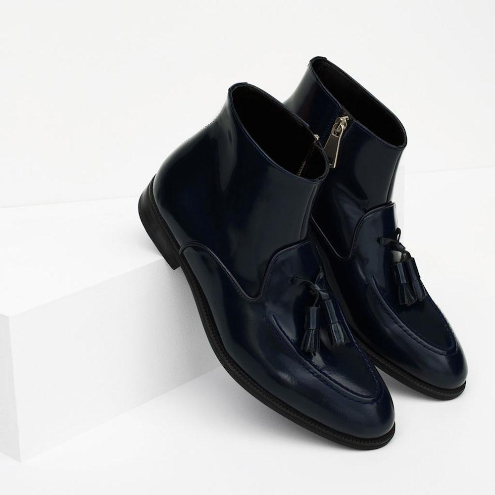 Модные ботинки без каблуков