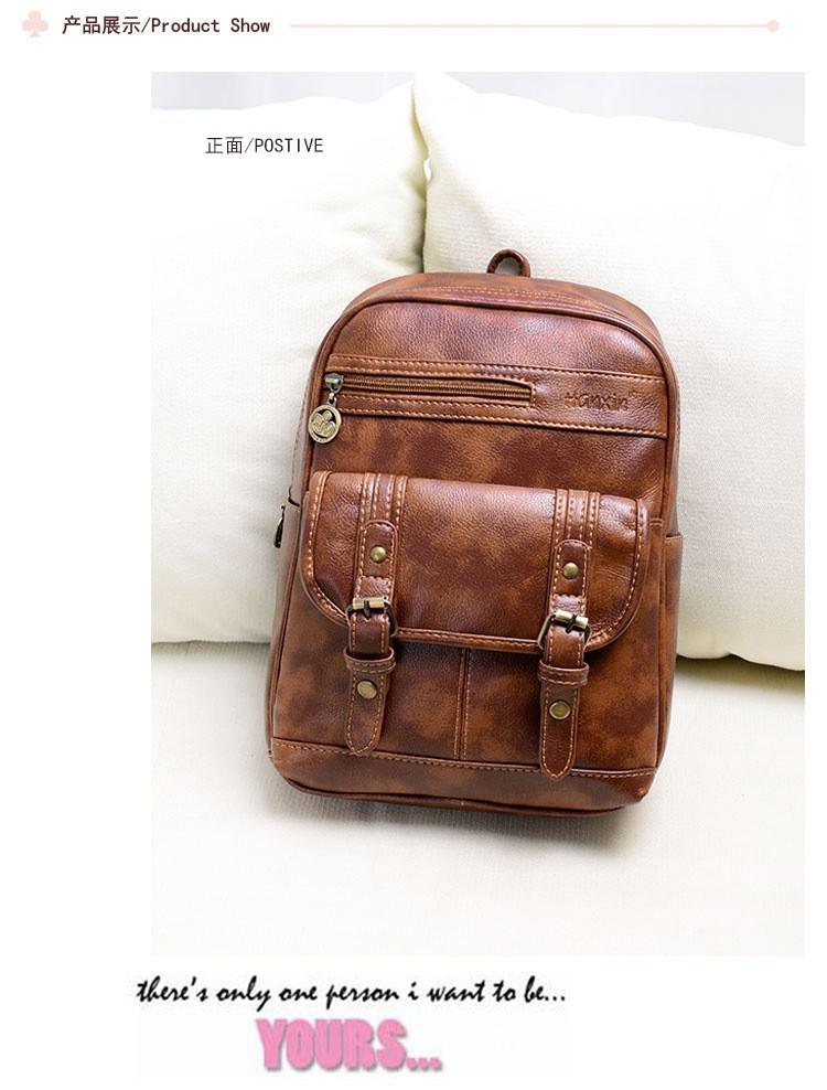 Скидка Aliexpress на кожаный рюкзак в винтажном стиле