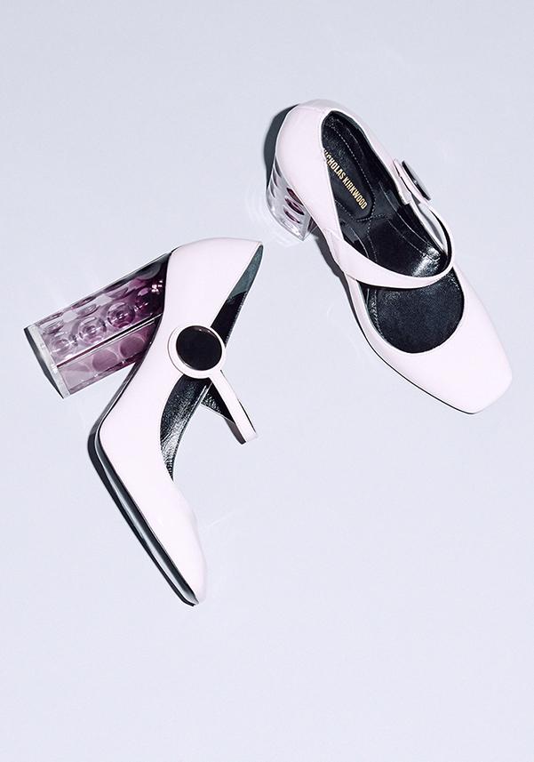Туфли на квадратном каблуке в Matchesfashion