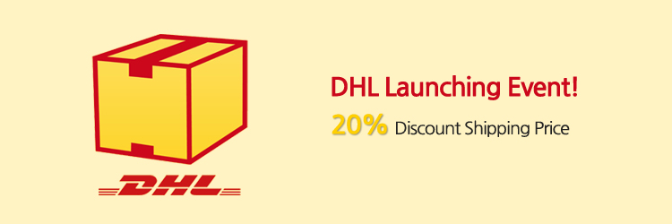 Testerkorea: Скидка на доставку DHL