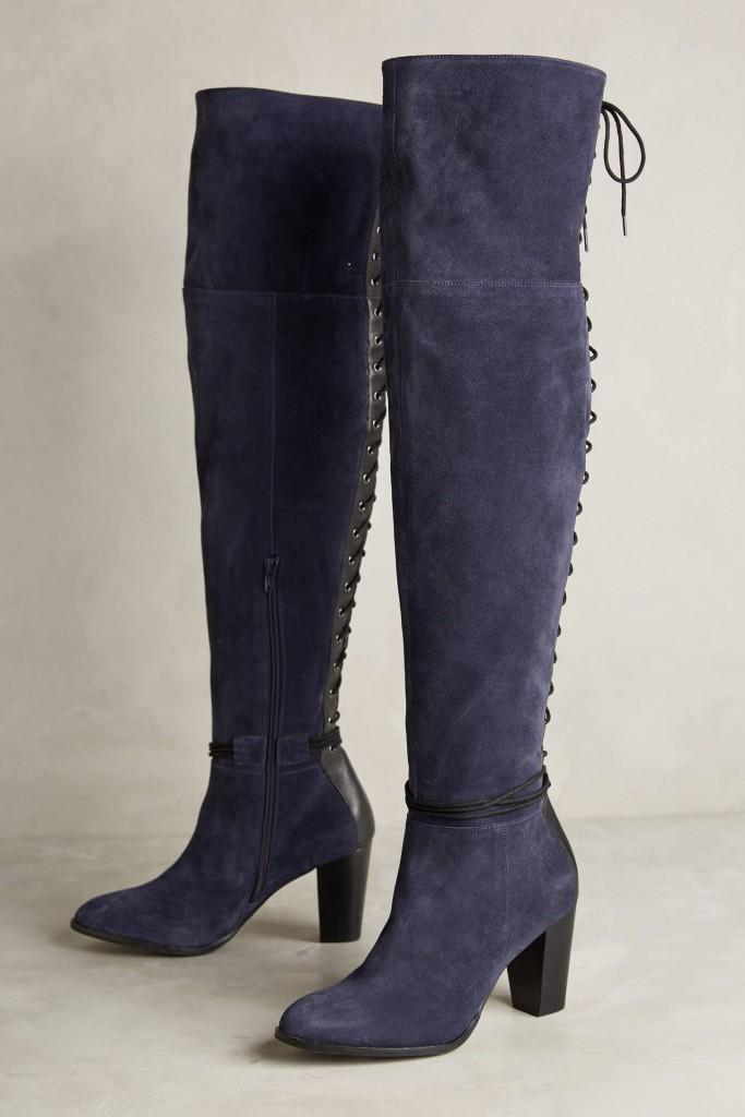 Демисезонная обувь Anthropologie: Сапоги на шнуровке
