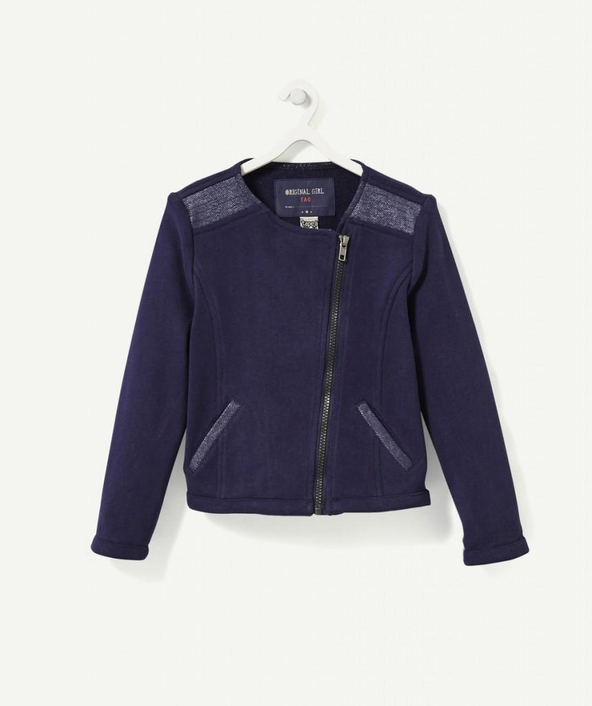 Новинка T-a-o.com: Темно-синяя куртка