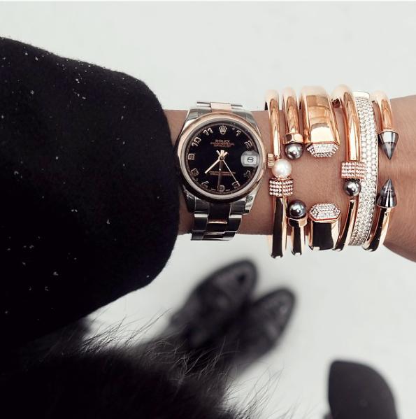 2 браслет и часы