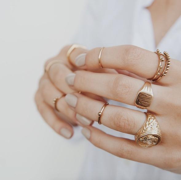 6 разные кольца
