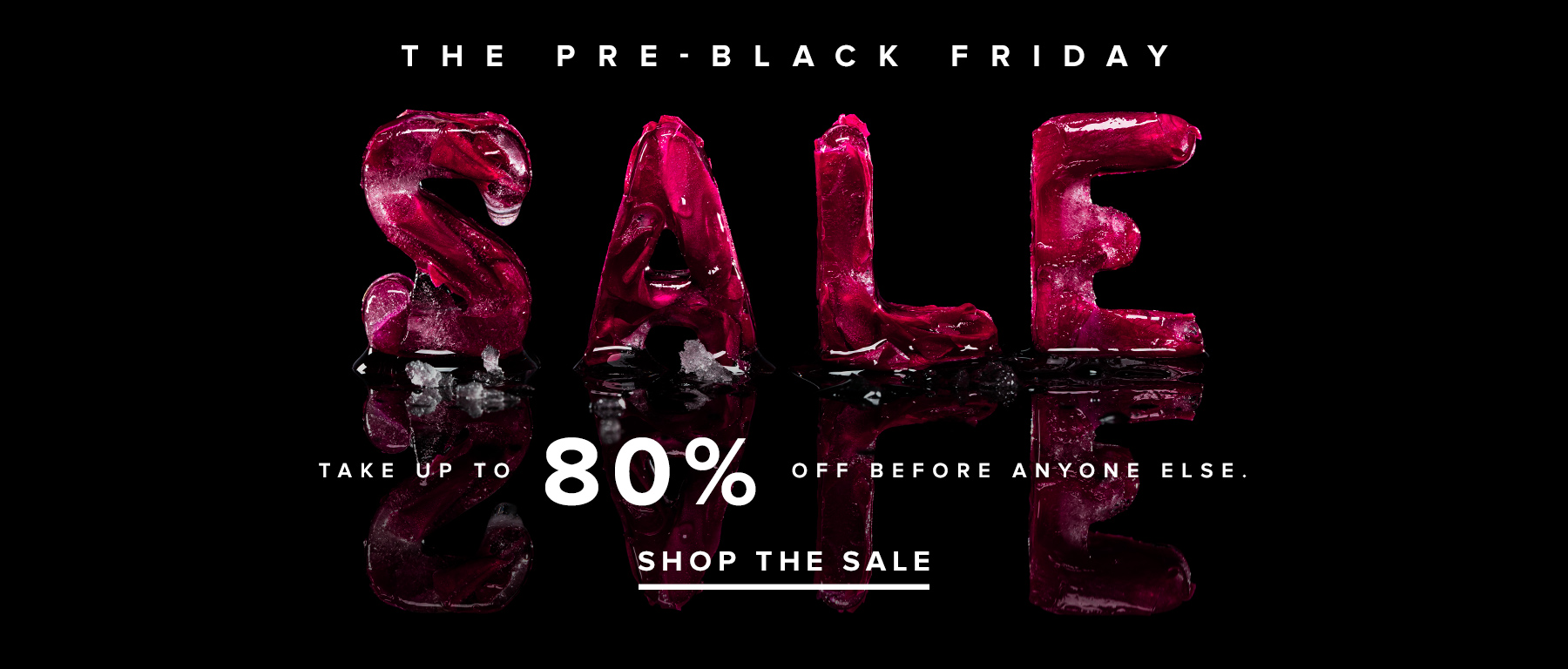 Распродажа перед Черной пятницы в REVOLVE