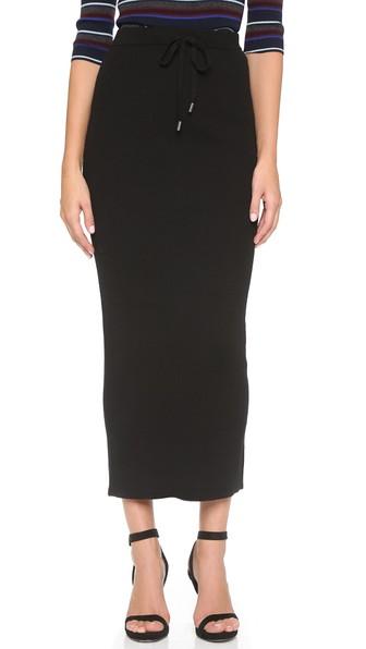 Шерстяная юбка от Alexander Wang
